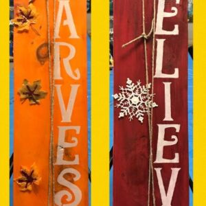 harvest board paint and sip class glenville ny