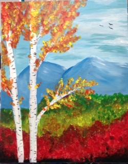 Fall Birch