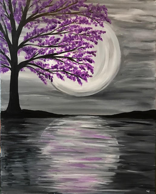 Moonlit Spring