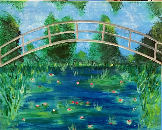 Monet's Footbridge