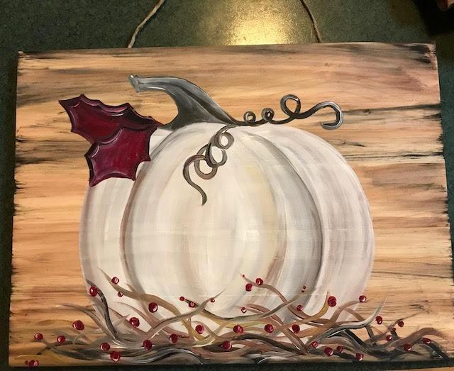 Fall Board Art