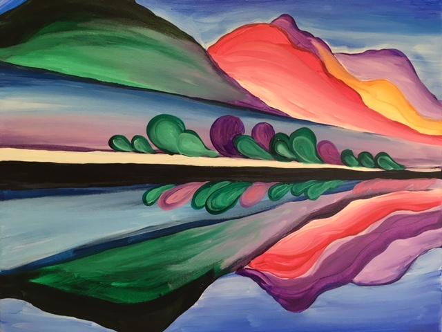 O'Keeffe Landscape
