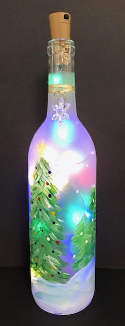 Holiday Wine Bottle
