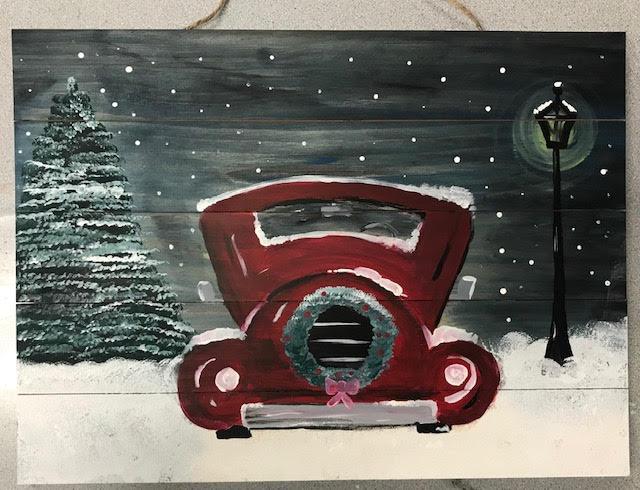 Truck Board Art
